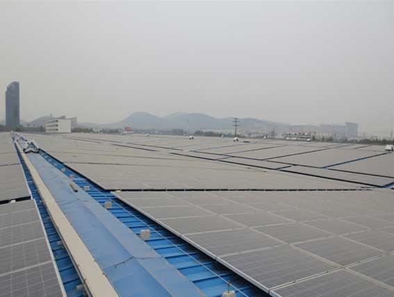 On Grid Solar Panel Plant ( Solar Farm )