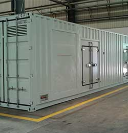 On Grid System and Diesel Genset solution
