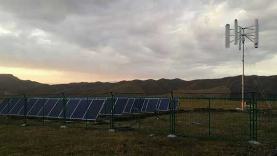Solar-Wind Hybrid Solution